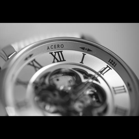 Acero Watch Centenario detalle Acero BN
